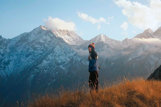 Dharansi pass, Uttarakhand - Top ten Himalayan treks The Visual Yatra Top 10 offbeat Himalayan treks