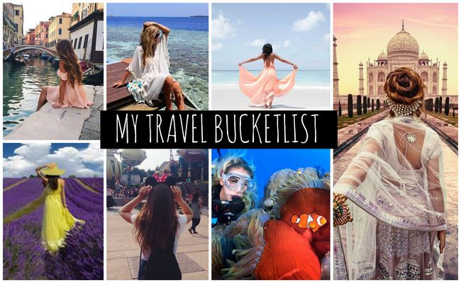 MY 21 TRAVEL BUCKET LIST | HER CUTEBAY
