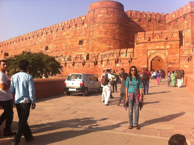 1st World Heritage Site of India – Agra Fort