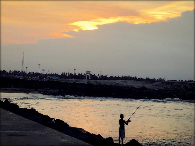 Photos of Rock Beach, Puducherry, India 1/1 by ANKITA DEY