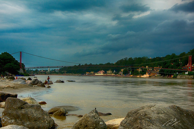 On The Banks of The GANGA – Rishikesh & Monsoon Affair