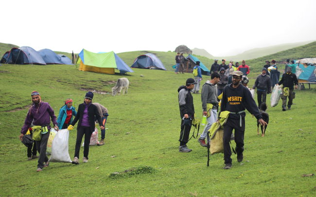Trekkers Collect 2,127 kg Of Waste On The Roopkund Trail Giving Mountains The Respect They Deserve