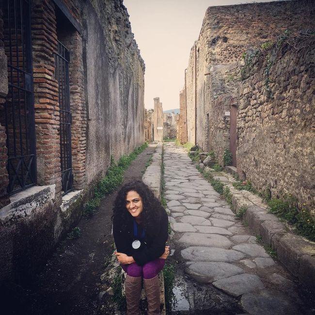 Frozen Roman time in Pompeii