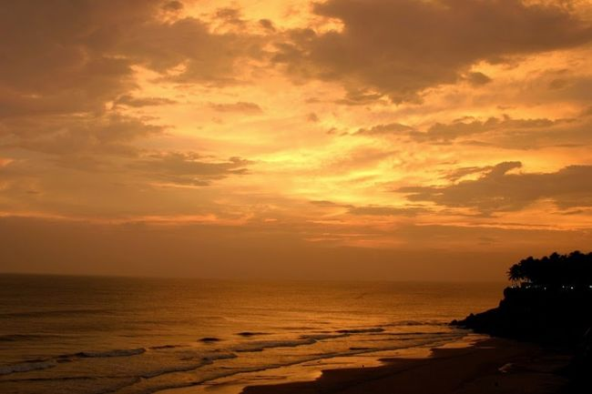A quirky little beachside town – Varkala
