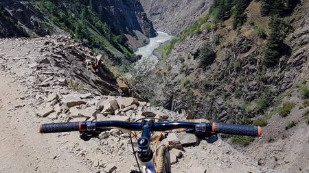 Cycling on World Most Dangerous Road