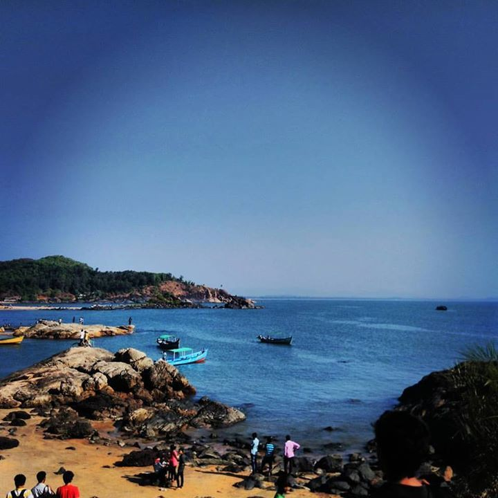 Photo of Om Beach, Gokarna, Karnataka, India by The Fervid Traveller