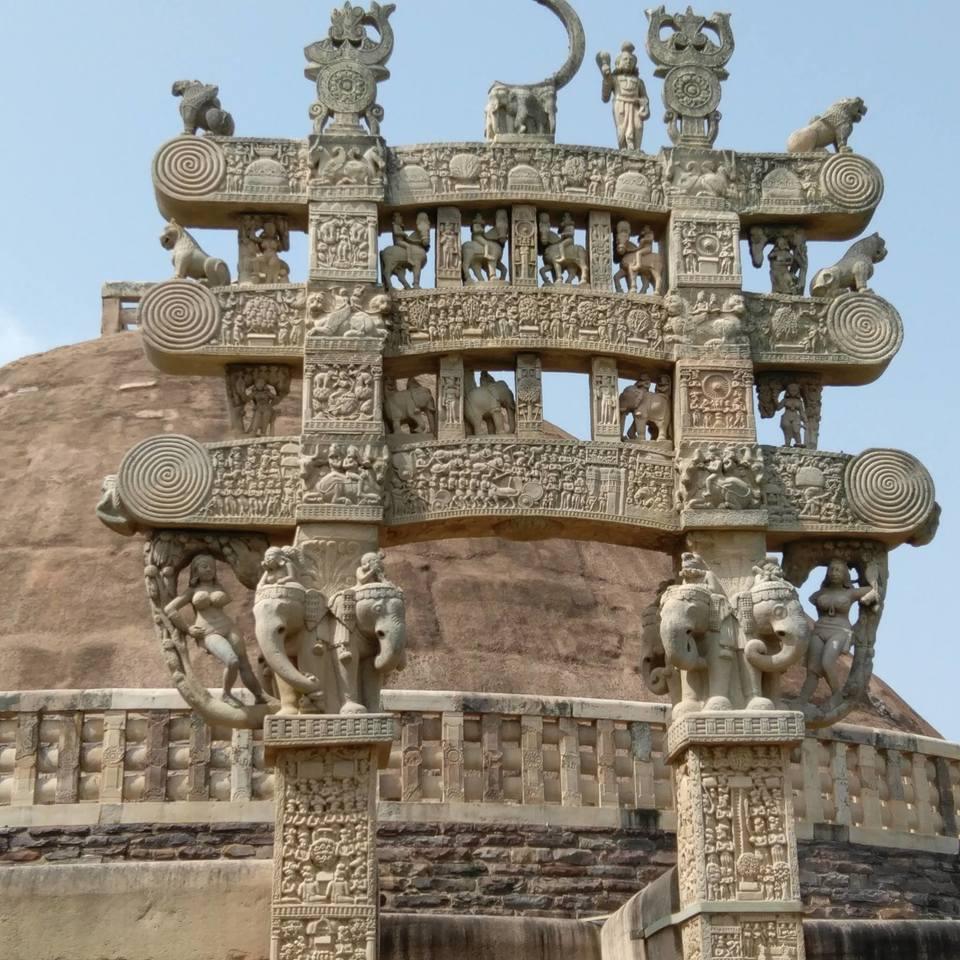 Photos of History comes alive...SANCHI AND UDAIGIRI 1/1 by Soma Majumdar