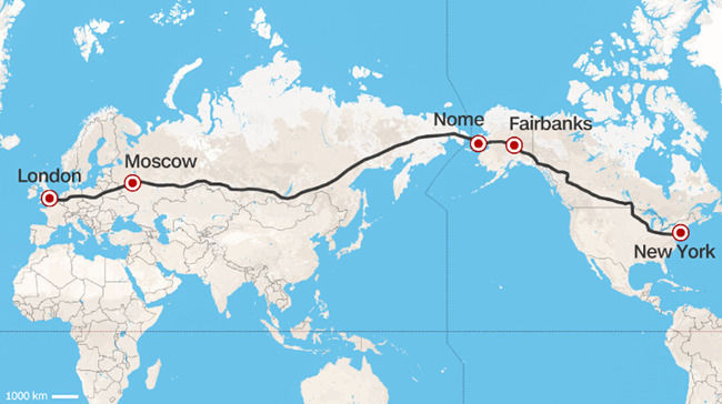 Delhi to New York by Road, Delhi India To New York Road Trip Will be on flight routes from usa to russia, airplane map usa to india, flight routes united states network, flight routes to latin america from russia, flight routes from china to us, flight routes from usa to japan,