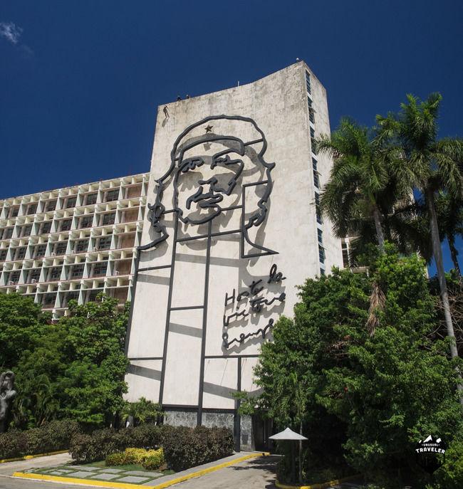 """Santa Clara the city of """" El Che"""" Guevara."""