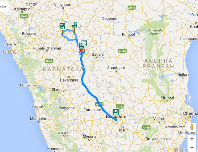 Hampi India Map.Backpack Bus Stand Travelling To Lets Toss Karnataka