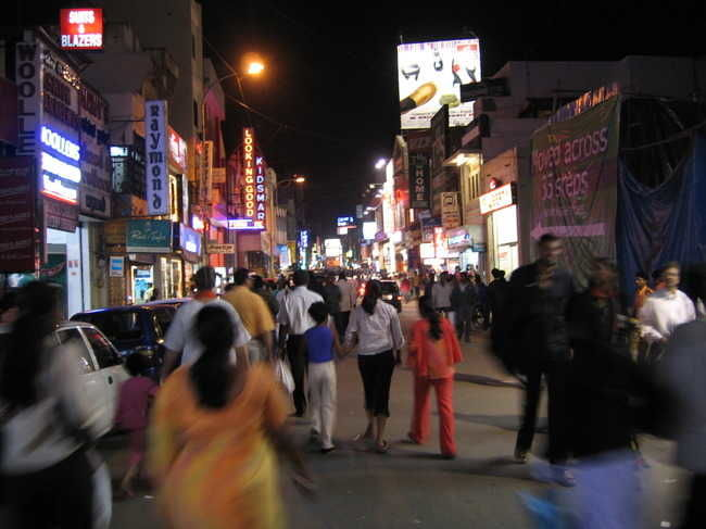 Photos of Commercial Street, Old Taluk Cutchery Road, Chickpet, Bangalore, Karnataka, India 1/1 by Kavita Murty