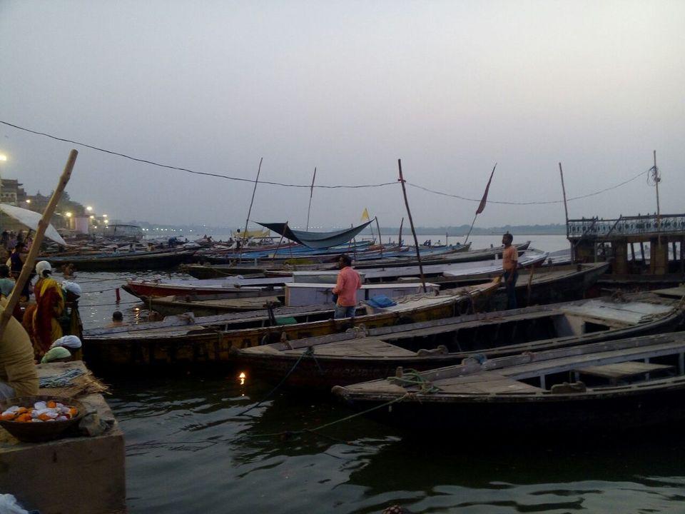 Streets, Boats, Ghats...And Varanasi!