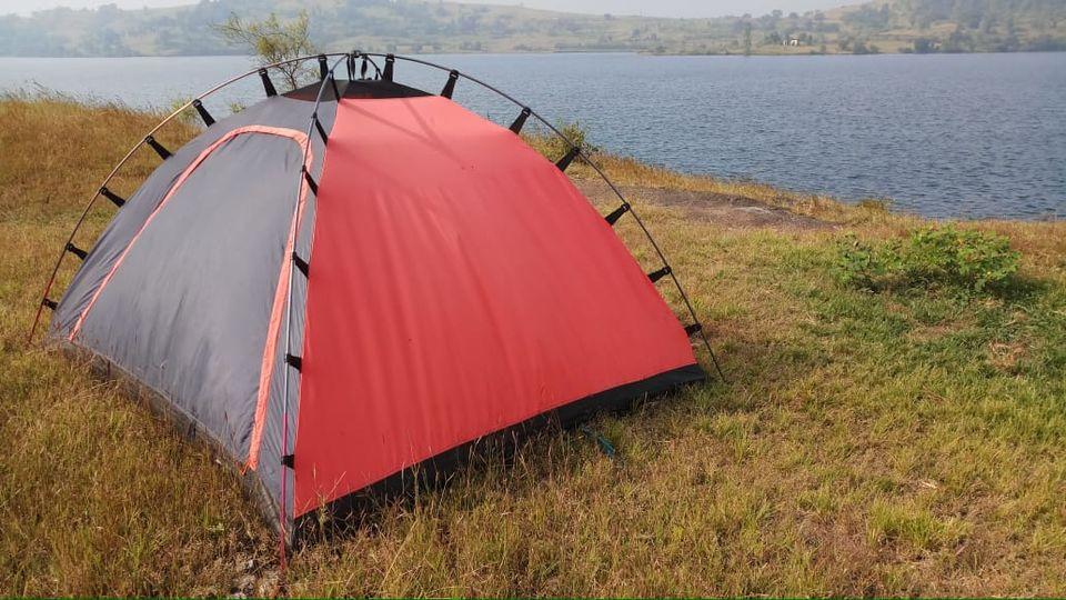 Lakeside camping at bhandardara | Best camping spot near ...