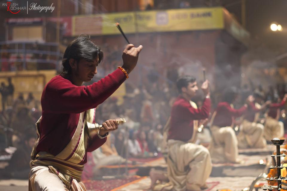 Photos of Ganga aarti 1/4 by Ankush Kochhar-Ak