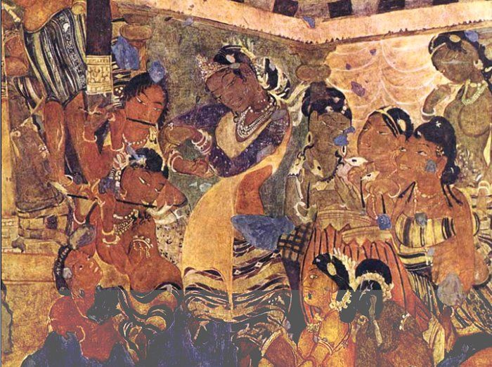 5 historical places in india you must visit by sarbajaya for Ajanta mural painting