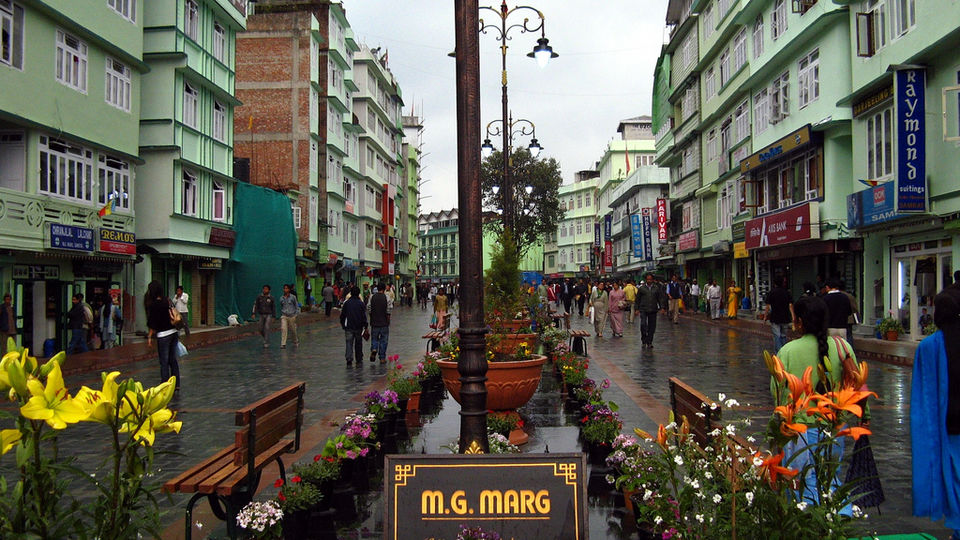 Photo Of Mg Marg Vishal Gaon Gangtok Sikkim India By Sagnik Basu