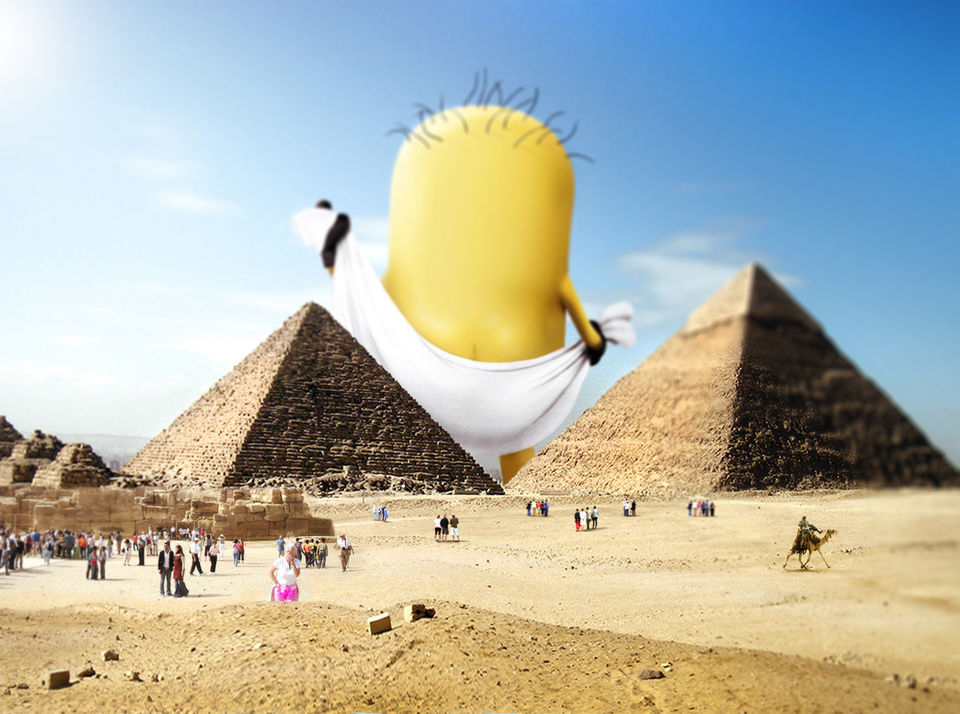 Photo Of These Pictures Minions Taking Over Famous Places Is Strangely Super Adorable 2