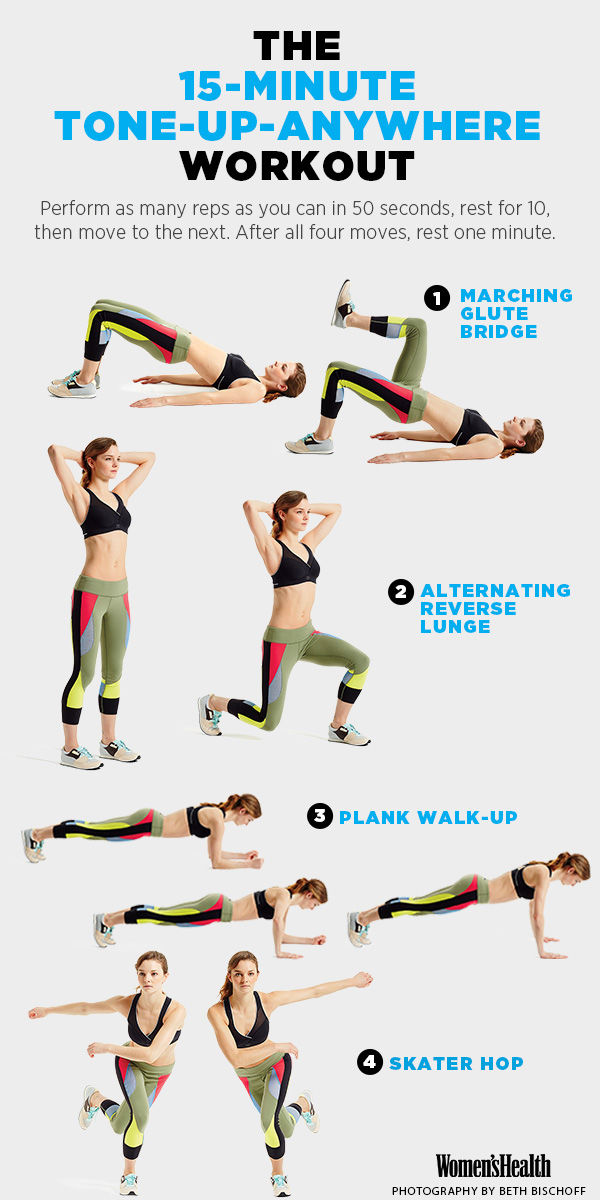 The Only 14 Workouts You Need To Stay In Shape While
