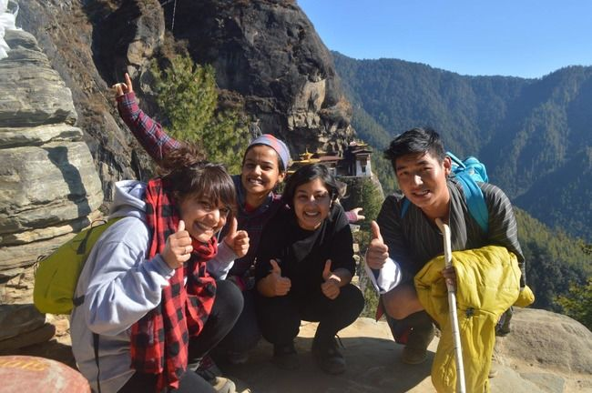 Three Girls On A Road Trip With The Good Men Of Bhutan