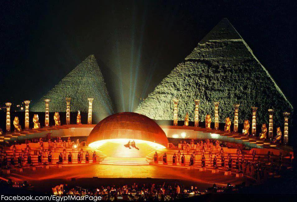 Sound Light Show At Giza Pyramids Tripoto
