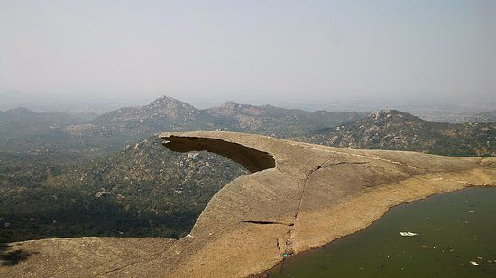 Photos of Avalabetta Trek (great view of geological formation of circular queued  hills ) 1/1 by Giri Mallela