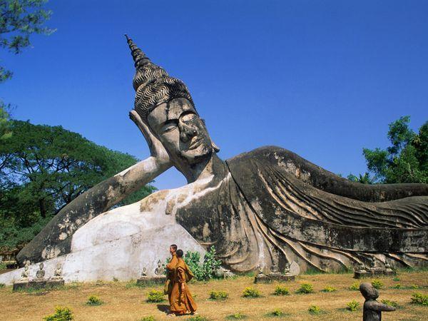 Photos of Reclining Budhha near the Thailand Border 1/5 by Jessica Festa