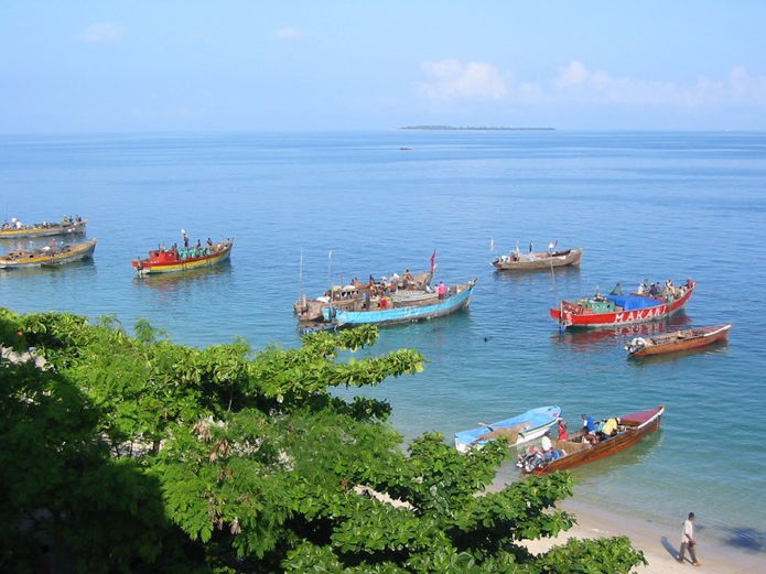 Photos of Stone Town beach view, Zanzibar 1/12 by Shaun