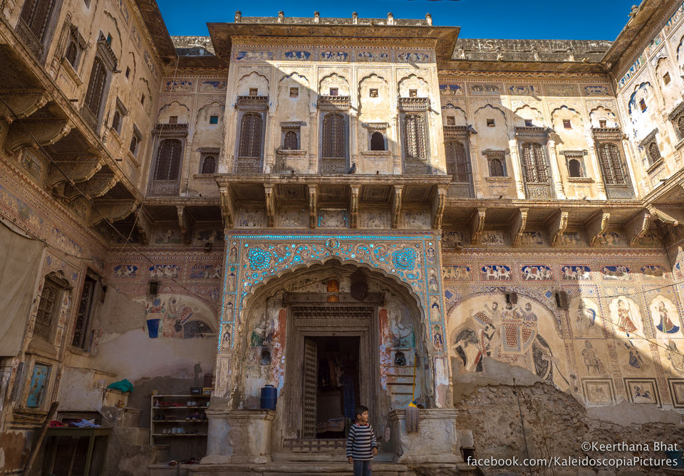 The painted havelis of Shekhawati