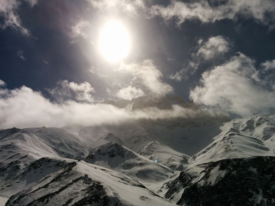 Photos of View of himalayan ranges from a peak 1/16 by Pooja