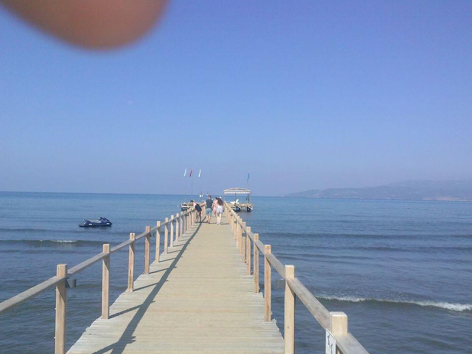 Photos of Pier into the Aegean 1/14 by Matt Cates