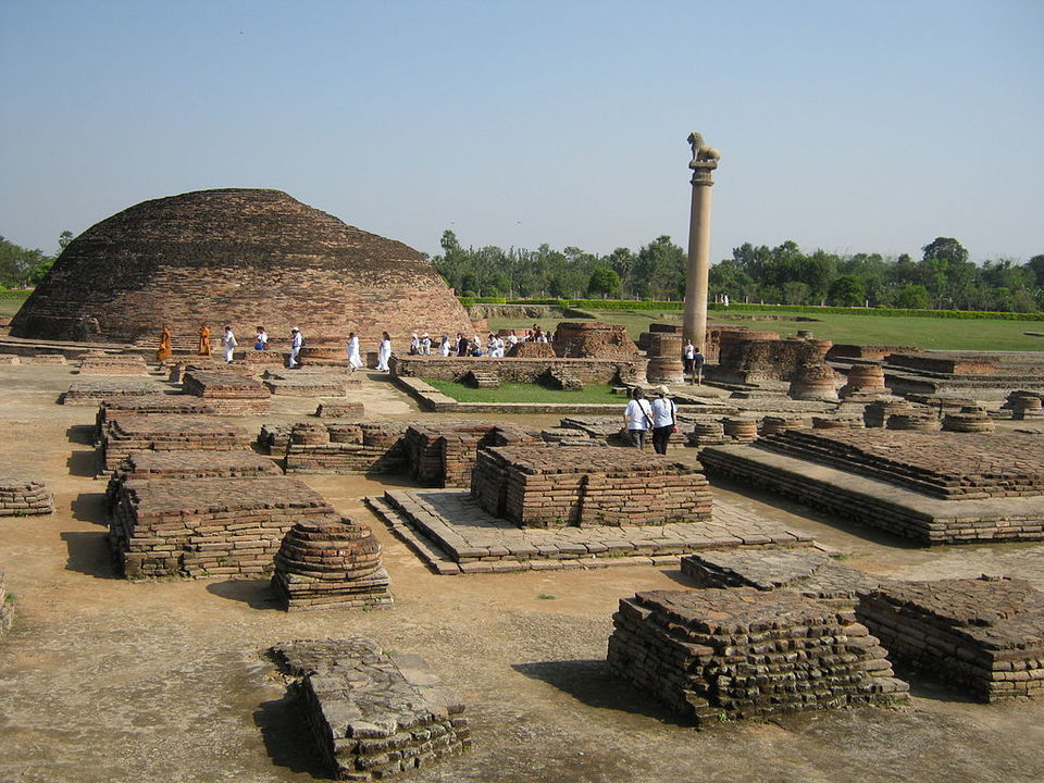 ashoka pillar Ashoka pillar in sarnath was built by emperor ashoka ashoka pillar is also known as sarnath pillar get sarnath pillar history and ashoka pillar timings more.