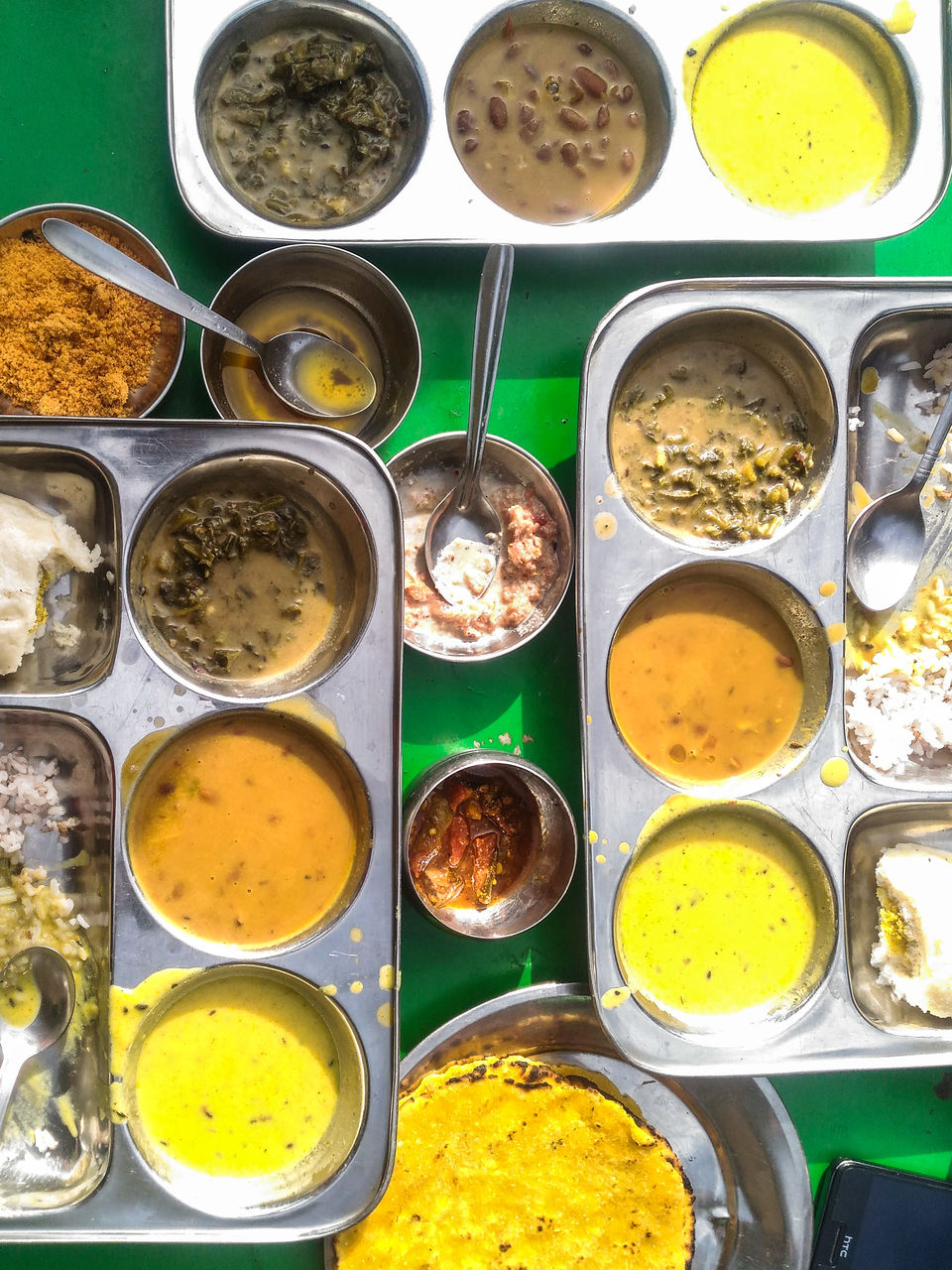 Photo of The delicious local thali served by a young couple running a small shop right beside the waterfall by Monidipa Bose