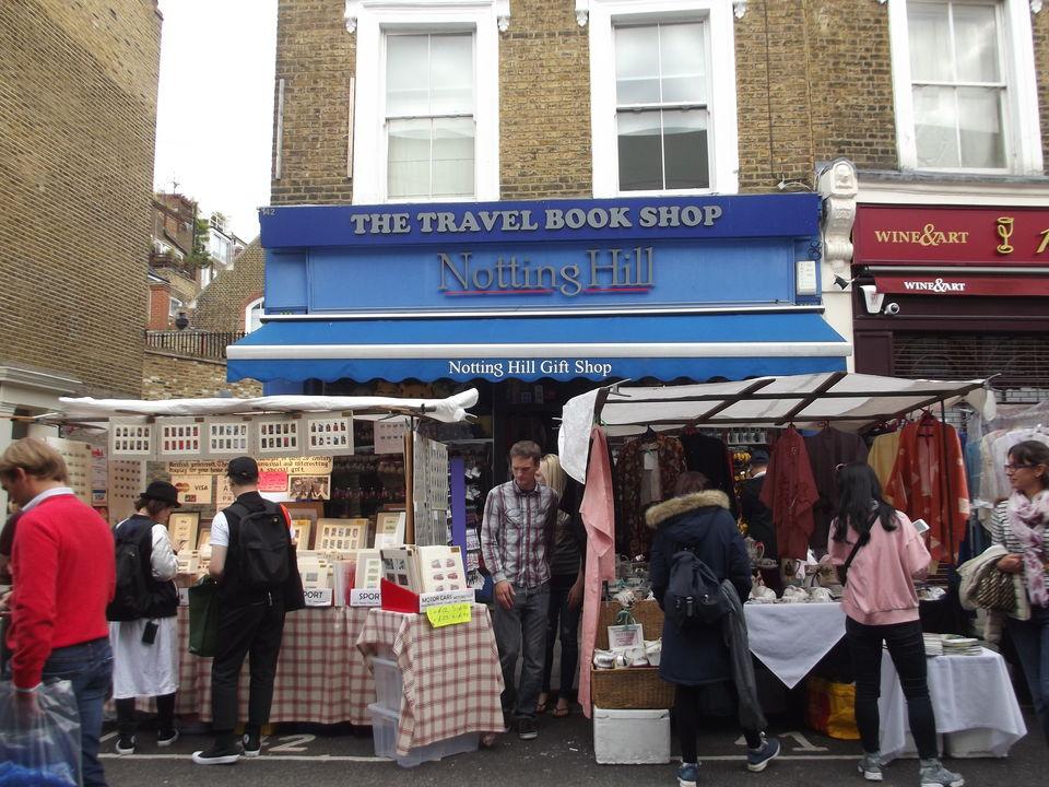 A walk through über-cool Portobello Market in Notting Hill, choc-a ...