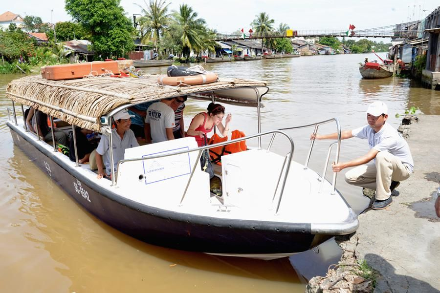 Mekong Delta by Speedboat from Saigon