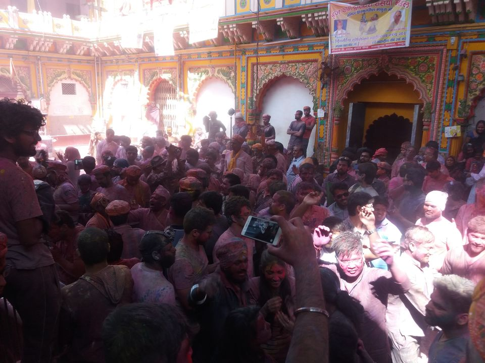 Photos of A Holi in the Holy Land of Lord Krishna 1/1 by Arpita Mukherjee