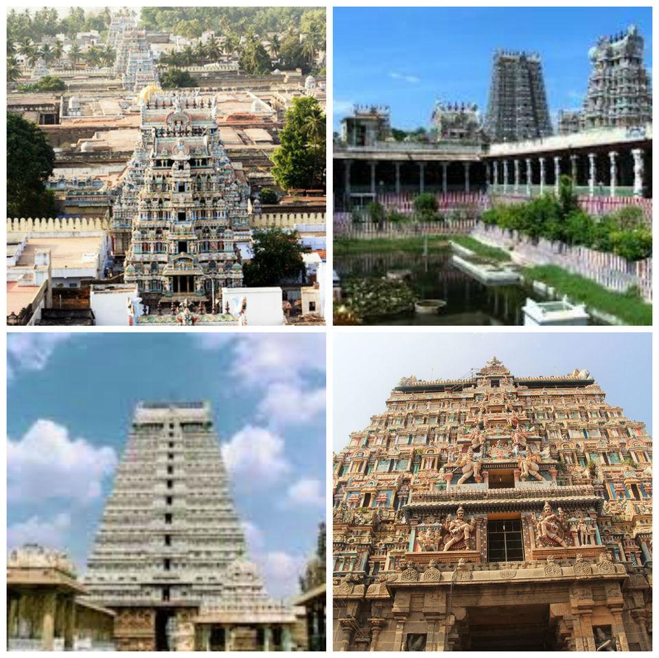 Famous Gopurams of Tamilnadu