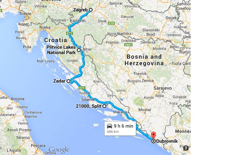 Rijeka Travel Guide Tourism Weather How to Reach Route Map