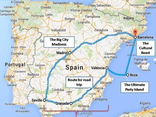 10 Days Spain Itinerary 10 Days in Spain Tripoto