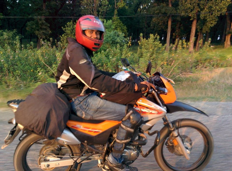 Bike trip Delhi-Kathmandu: Adventures of Nepal
