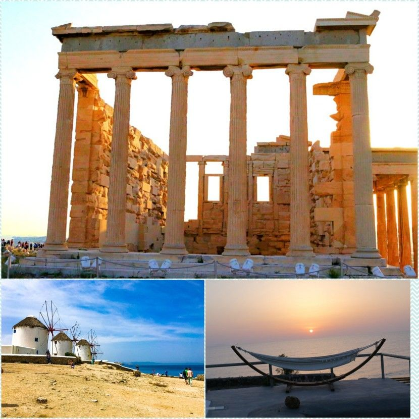 1 WEEK IN GREECE - Athens, Mykonos & Sentorini