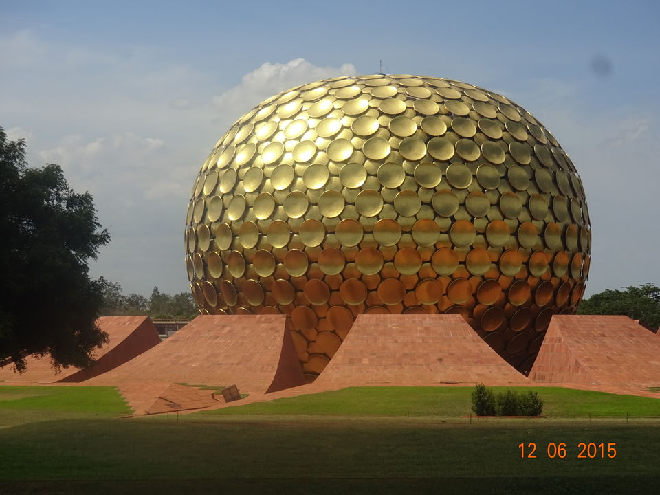 Photo of Matrimandir, Auroville, Bommayapalayam, Tamil Nadu, India by Nikita Mathur