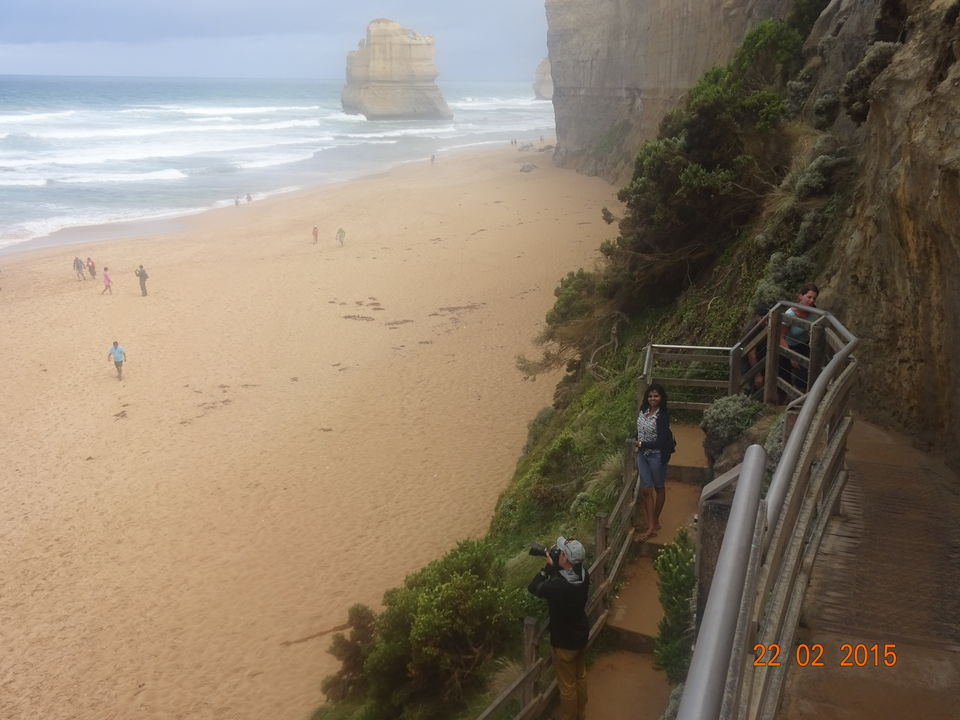 Photo of Gibson Steps, Great Ocean Road, Port Campbell, Victoria, Australia by Nikita Mathur