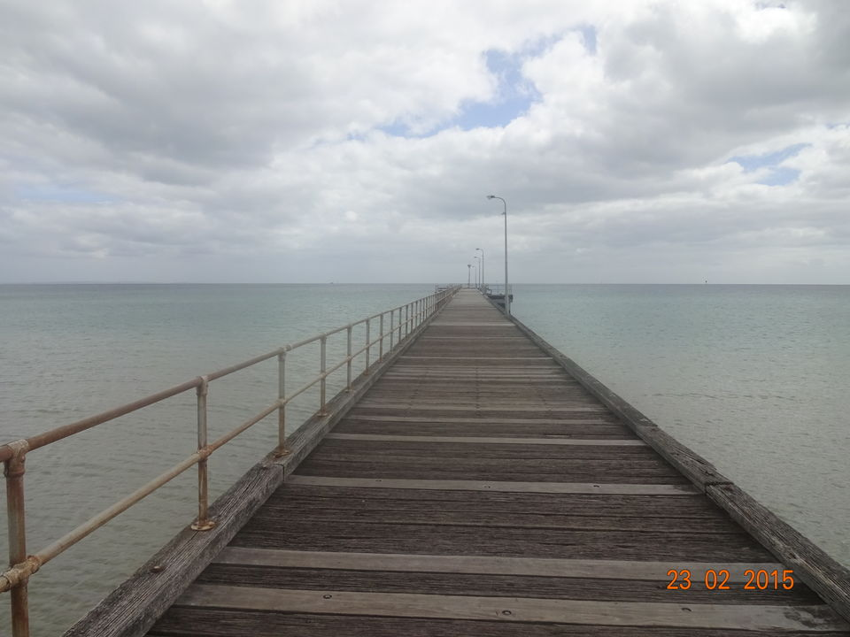 Photo of Rosebud Pier, Jetty Road, Rosebud, Victoria, Australia by Nikita Mathur