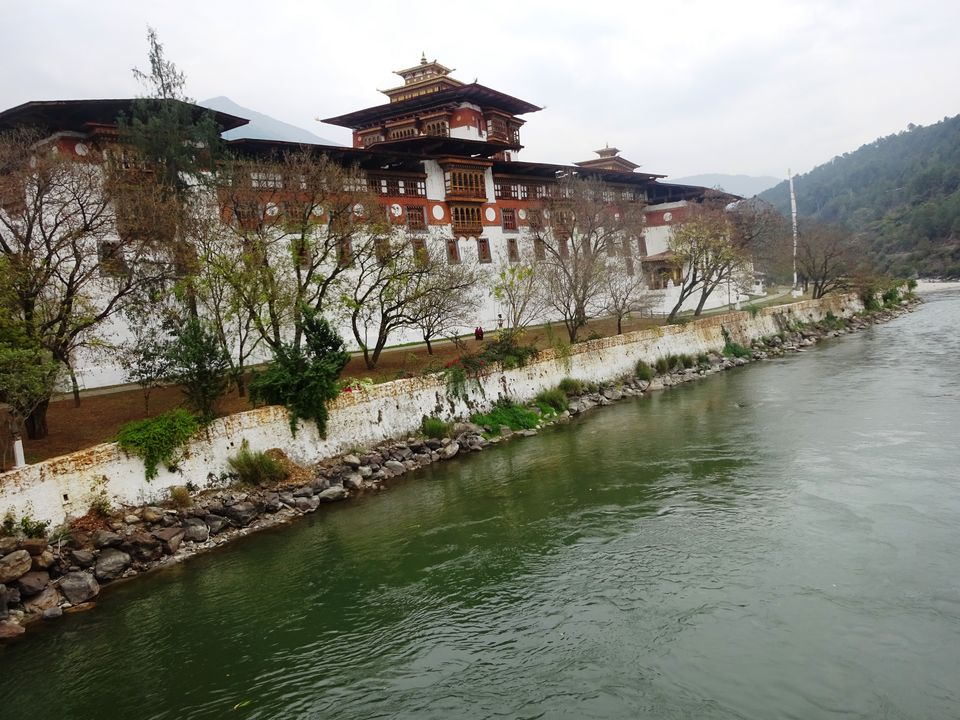 Photo of Punakha Dzong, Bhutan by Prahlad Raj
