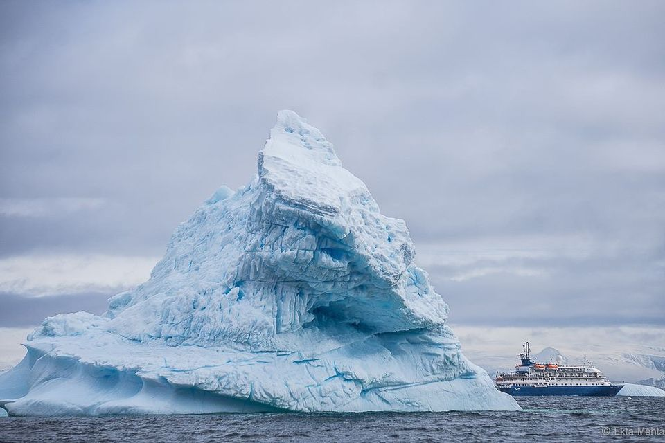 Photos of Pyramid Shaped Conical Iceberg !!  1/1 by Hardik Mehta