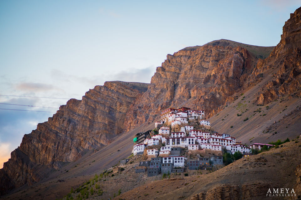 Photo of Key Gompa, Key Monastery, Key, Himachal Pradesh, India by Leena S.