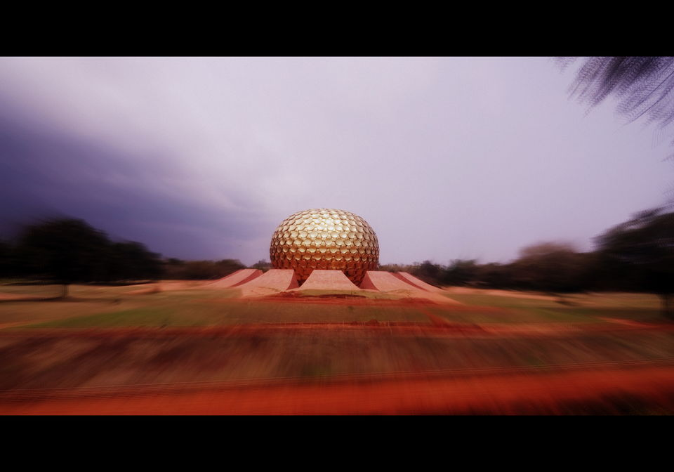 Photos of The Matrimandir, Auroville 1/1 by Srijani Banerjee