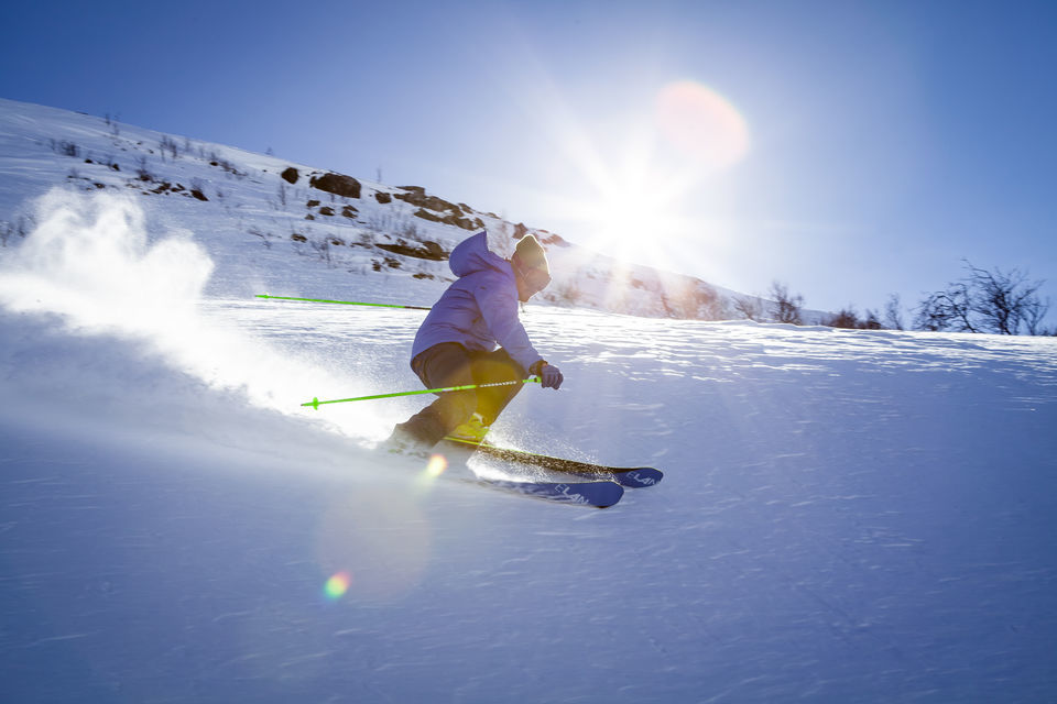 Skiing in himachal pradesh