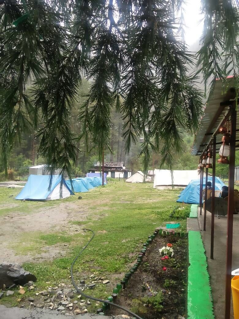 camping in kasol do it here at parvati woods camp by ajay k
