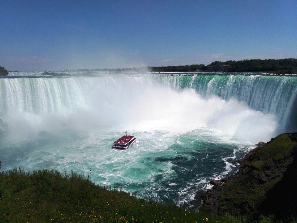 Photos of Niagara Falls- Hornblower Cruise 1/1 by Pushpa Kurup